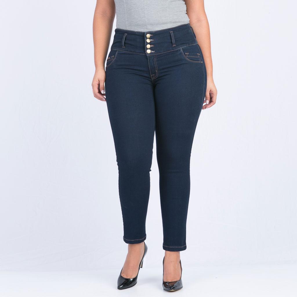 b93c2a7753 Jean control abdomen para mujer talla grande Farichi Studio